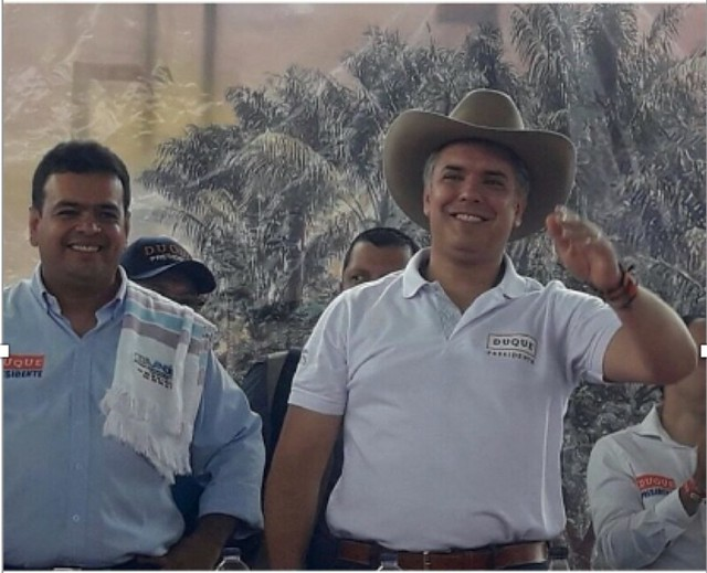 La amistad entre la familia del piloto del Cartel de Sinaloa e Iván Duque se fortaleció en la campaña presidencial.