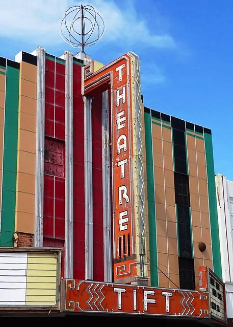 GA, Tifton-U.S. 41 Tift Theatre Neon Sign