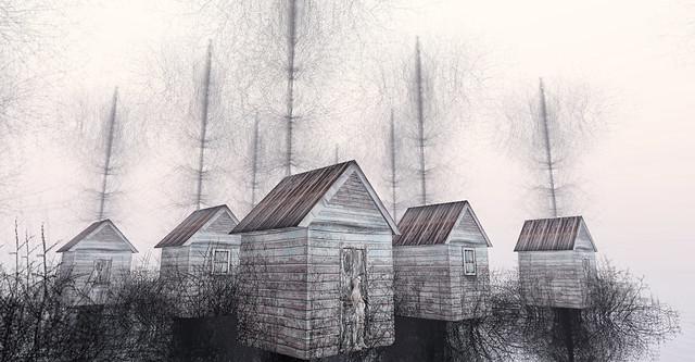 tree houses. .