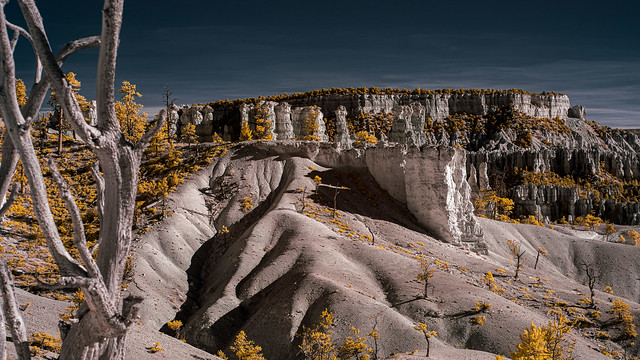 Bryce Canyon in Infrared