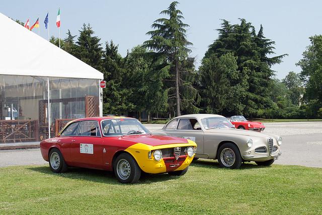 Alfa Romeo Giulia GTA, 1900 Super Sprint & Spider 1750