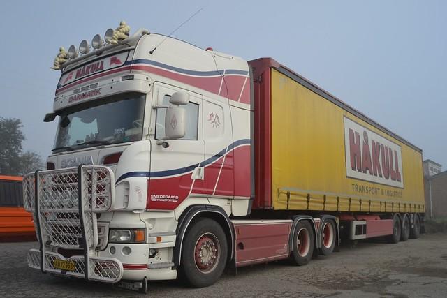 Scania R620 V8 - Håkull Transport & Logistics - Smedegaard Transport - AW 72 953