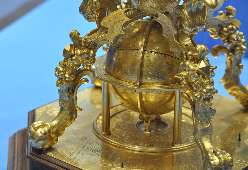 «Время Эрмитажа». Выставка «Модель Вселенной эпохи Ренессанса. Астрономические часы в собрании Эрмитажа. К завершению реставрации»