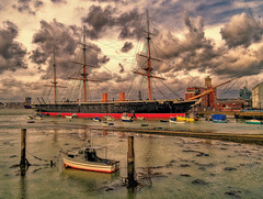 New Horizons 9 - H.M.S Warrior - Portsmouth Harbour