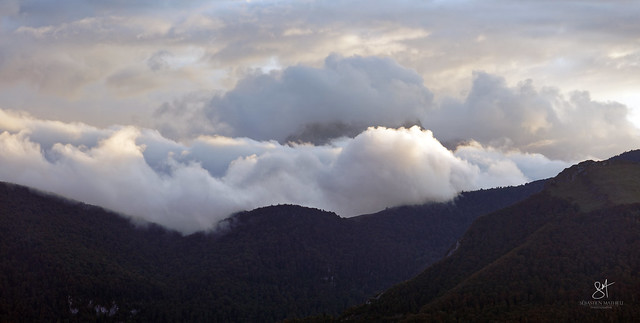 Les Baronnies dans les nuages.