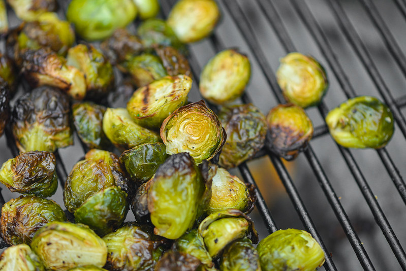 Kimchi Brussels Sprouts