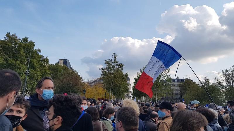 Rassemblement à République