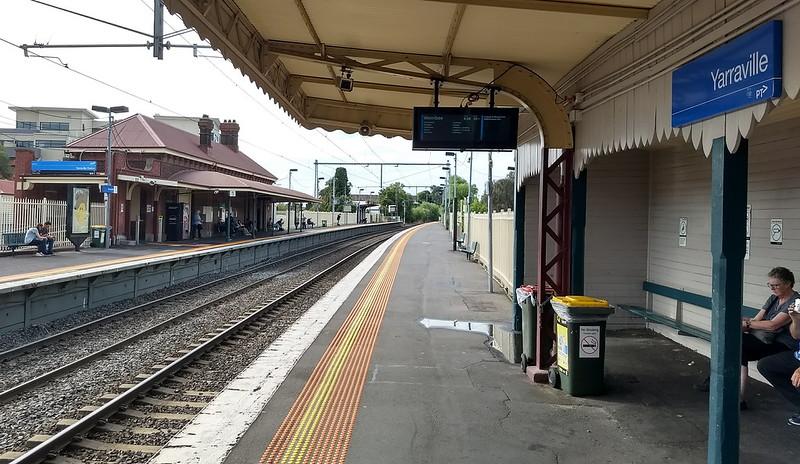 Yarraville station