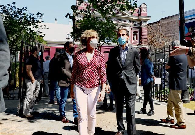 #EnTerreno: Vecinos y Locatarios de Baquedano Piden Paz