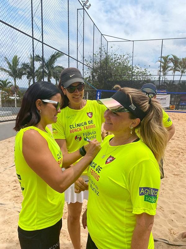 Clínica de Beach Tennis