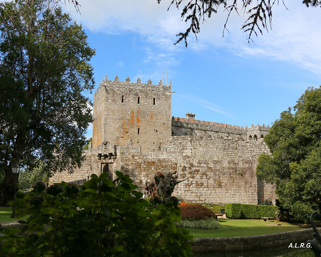 Jardín del Castelo de Soutomaior.