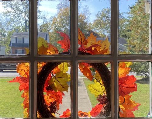 crazytuesday rearview fallwreath frontdoor windows viewbeyond fallcolors iphone hct htt hww cmwd