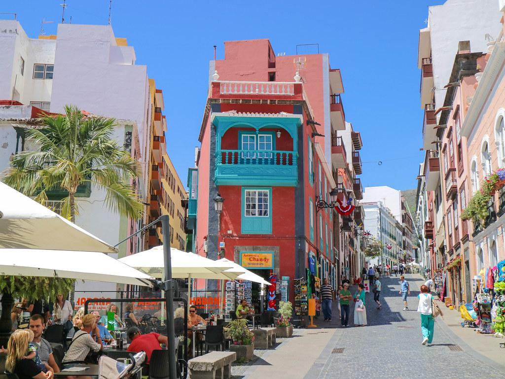 Calle Real en Santa Cruz de La Palma
