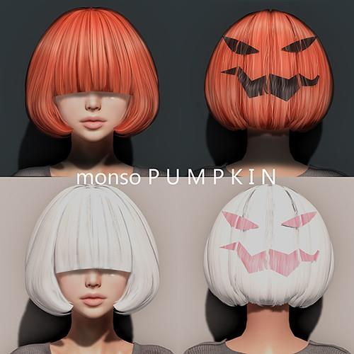 [monso] Pumpkin Hair