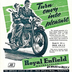 Tue, 2020-10-20 14:05 - The 1951 Royal Enfield model G, 'by miles the best!'.