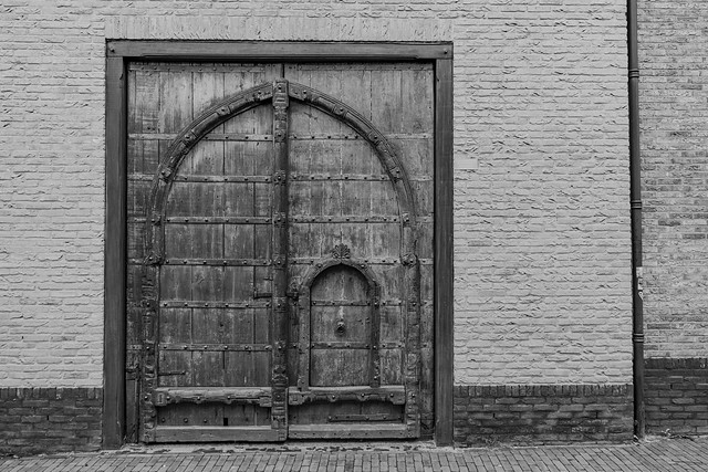 an old door from Rajasthan