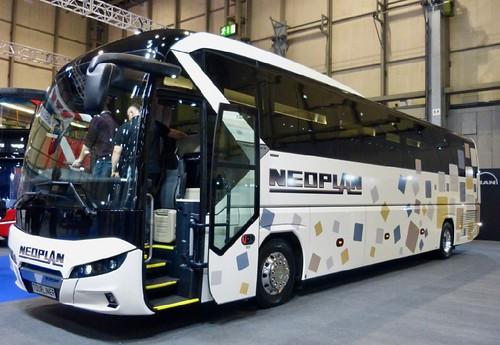 Neoplan Tourliner on Dennis Basford's railsroadsrunways.blogspot.co.uk'