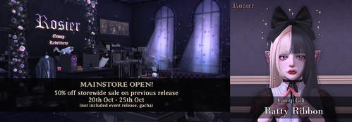 {Rosier} Mainstore Open!