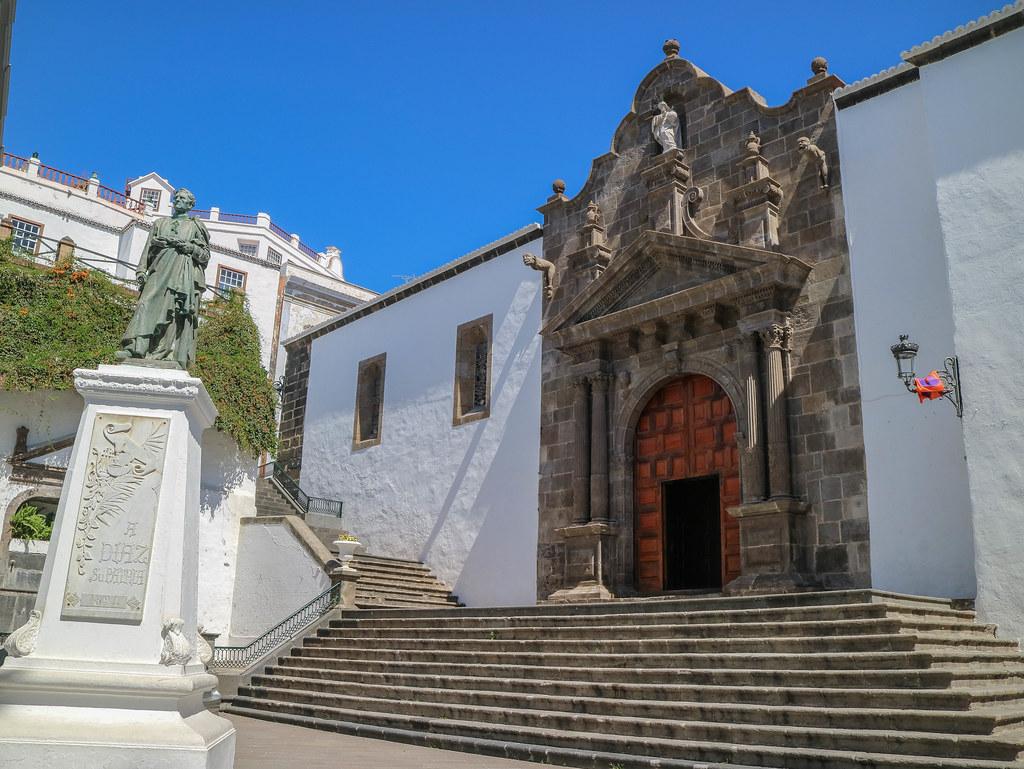 Iglesia El Salvador en Santa Cruz de La Palma