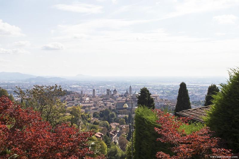 Bergamo vista dall'alto