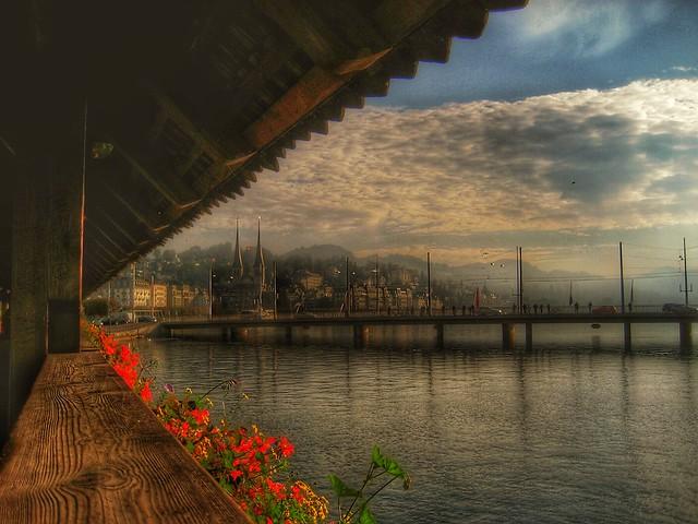 Chapel Bridge....