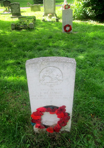 War Grave, Overleigh 'Old' Cemetery, Chester