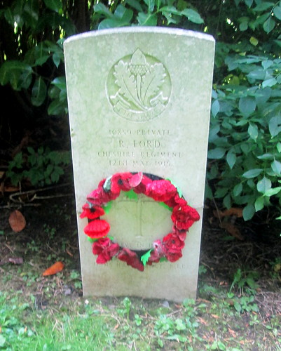 Overleigh 'Old' Cemetery, Chester, War Grave 4