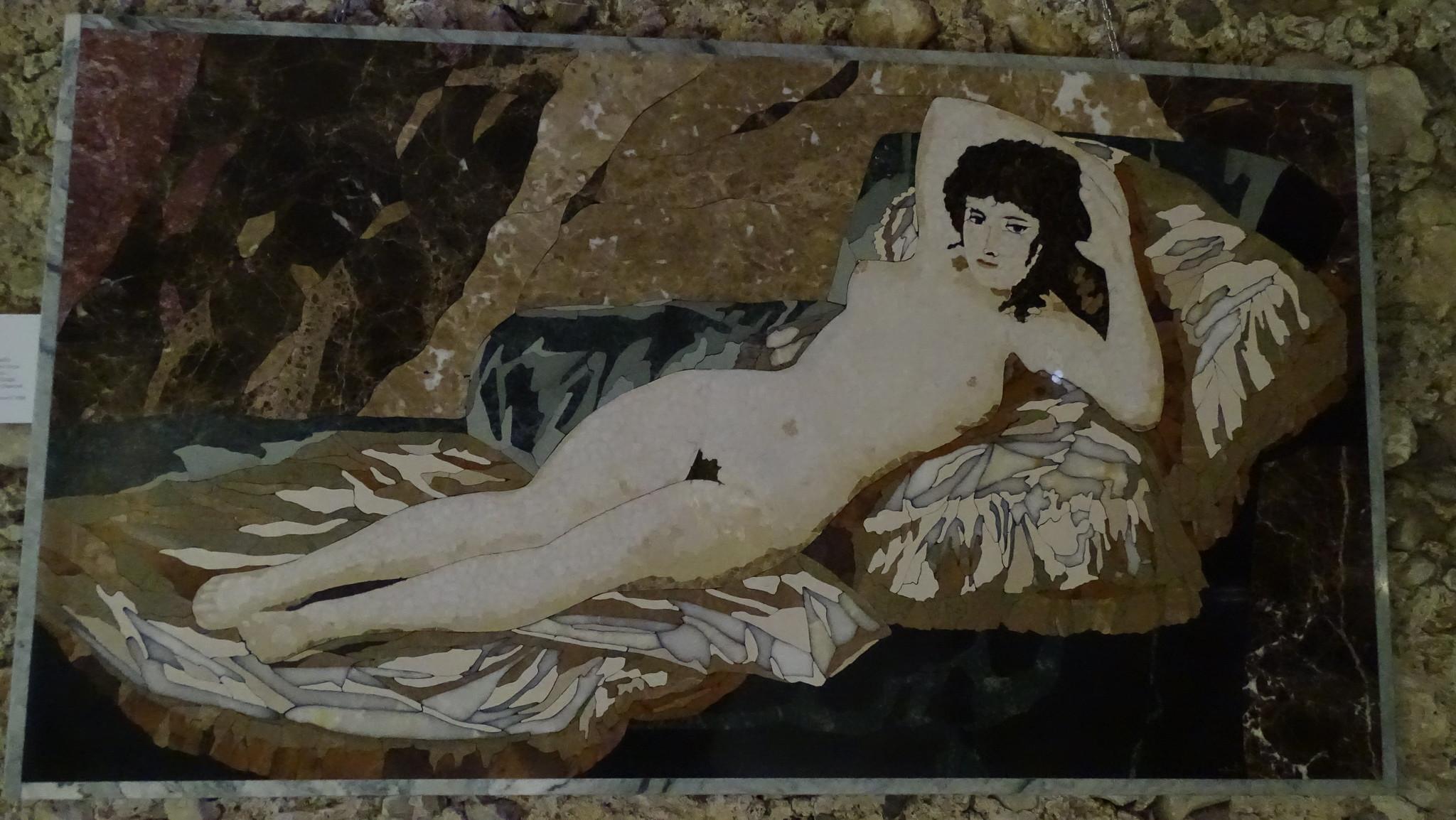 La pittura di pietra, dell'artista Enrico Pinto.