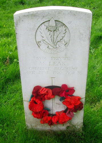 Chester, Overleigh 'Old' Cemetery, War Grave 7