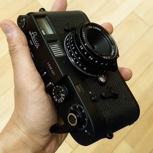 Ricoh GR 28mm f2.8 黑魂到手