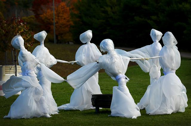 Dancers in the Vineyard