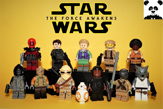 The Force Awakens - Part 1 [Star Wars Minifigs #15]