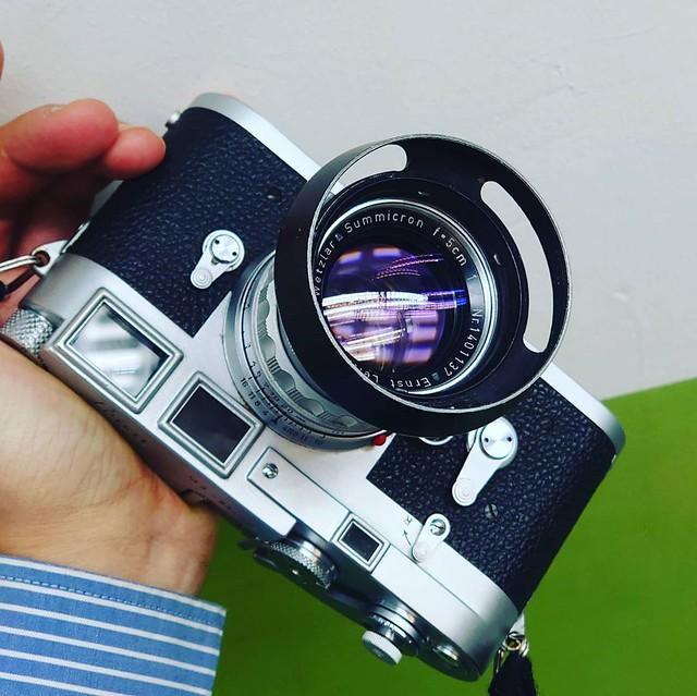 Leica 50mm f2 RIGID 完美玻璃入手再試