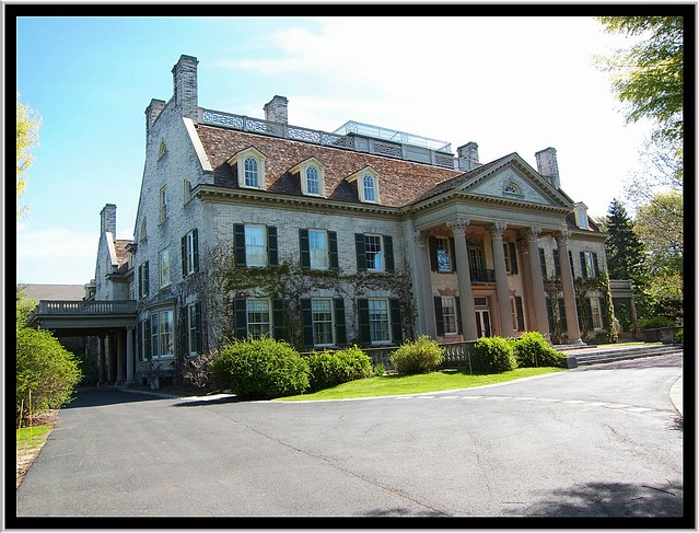 George Eastman House ~ Kodak Founder ~ Rochester NY  ~ Main Entrance