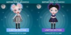 SEmotion Libellune Gothic Girl Animesh LIMITED