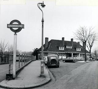 Watford (Metropolitan) London Underground station, c1965