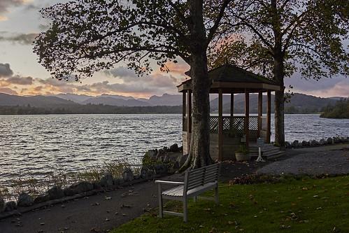 sunset lake windermere lakedistrict cumbria uk olympus omdem1markiii 12100 f4