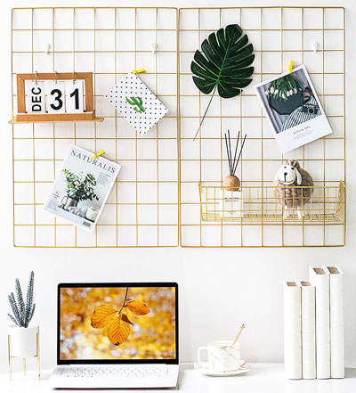 3-home_office_essentials_amazon_ikea_structube_wayfair_etsy_gold_wire_panel_board