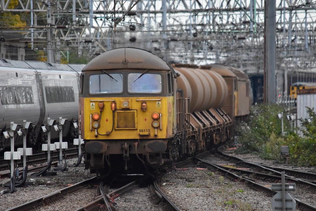 56096 TnT 56113 Crewe. Coleham-Coleham RHTT. Fri 16th Oct 2020 by Stu Sharp