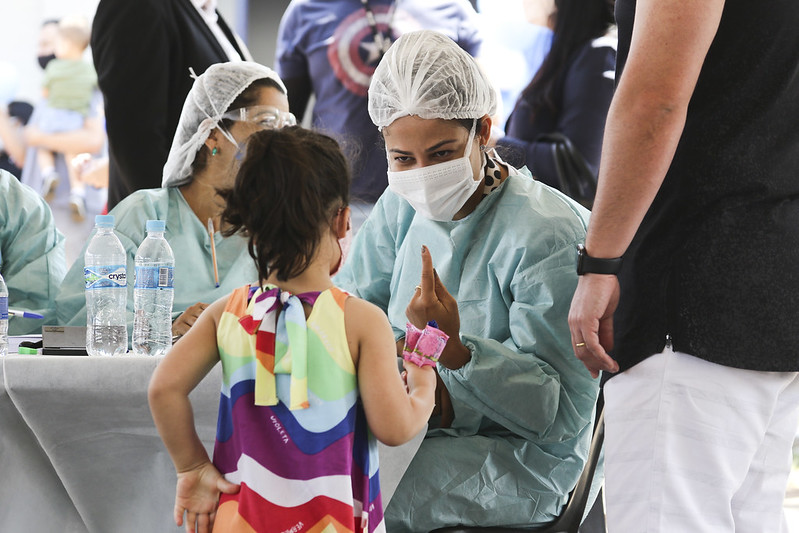 Quase 15 mil crianças foram vacinadas contra a poliomielite no Dia D (17.10.2020)