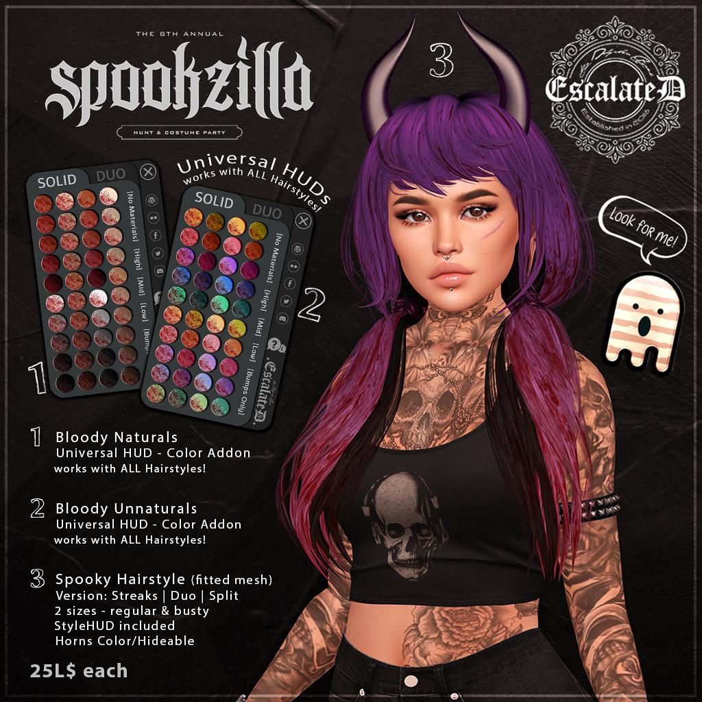 .EscalateD.'s Spookzilla Huntkey