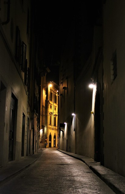 In the backstreets of Florence