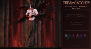 DREAMCATCHER // Fallen angel Aphelion - male skirt @ MOM | by NotTheReal Novaland