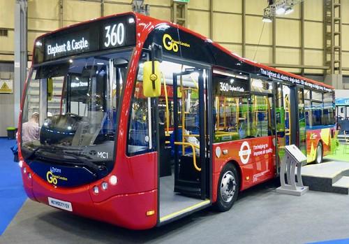 Optare MetroCity EV 'London General' No. MC1 on Dennis Basford's railsroadsrunways.blogspot.co.uk'