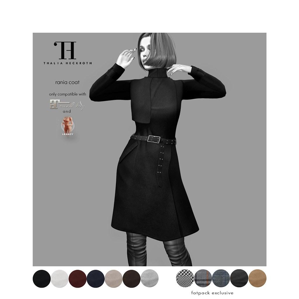Thalia Heckroth – Rania coat (MAITREYA LARA and MESHBODY LEGACY)