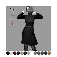 Thalia Heckroth - Rania coat (MAITREYA LARA and MESHBODY LEGACY)