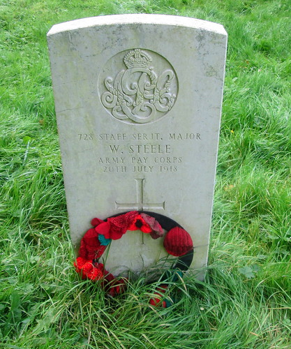 Overleigh 'Old' Cemetery, Chester, War Grave 11