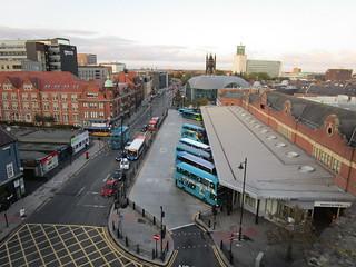 Haymarket Bus Station, Newcastle