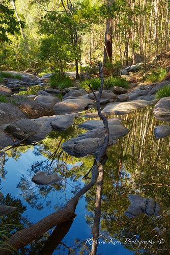 australia queensland motharmountain gympie landscape pools trees nature water river creek rocks