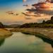 Sunset over Lake La Bolera - Arroyo de Guazalamanco